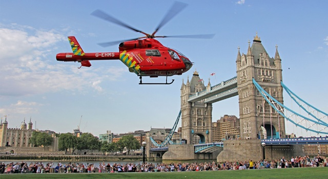 Second Helicopter for London's Air Ambulance